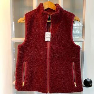 Jcrew Maroon Vest